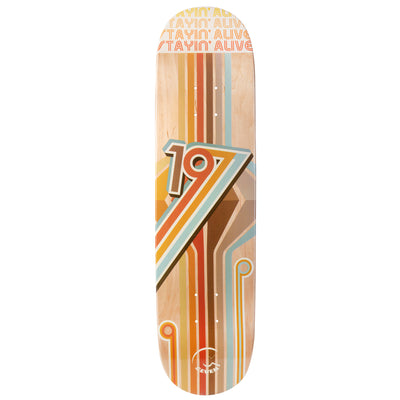 Cal 7 Flip Skateboard Deck Canadian Maple 7 Ply 8.25 Inch Popsicle Trick