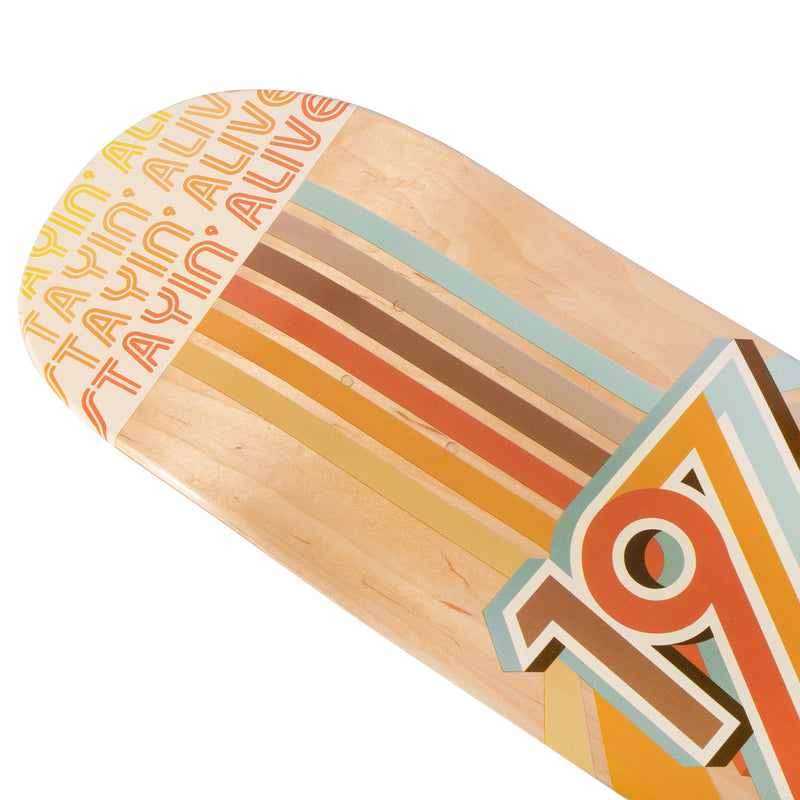Cal 7 Flip Skateboard Deck Maple 7 Ply 7.75 Inch Popsicle Trick