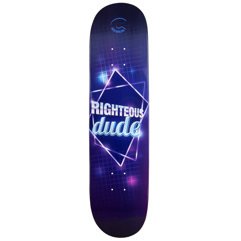 Cal 7 Righteous Skateboard Deck Canadian Maple 7 Ply 8 Inch Popsicle Trick