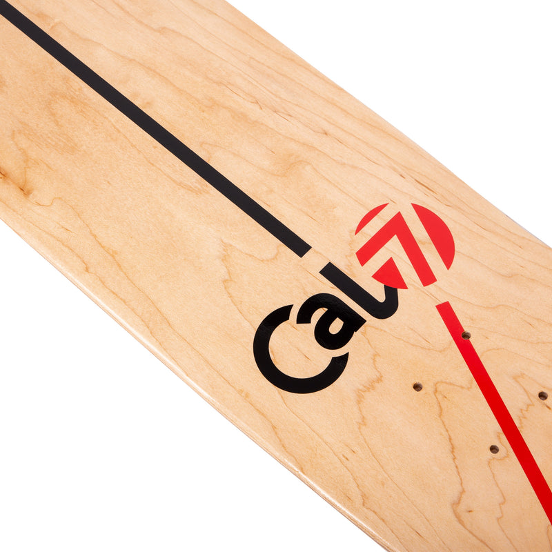 Cal 7 Tectonic Skateboard Deck Canadian Maple 7 Ply 8 Inch Popsicle Trick