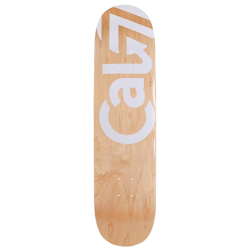 Cal 7 Tundra Skateboard Deck Canadian Maple 7 Ply 8.25 Inch Popsicle Trick
