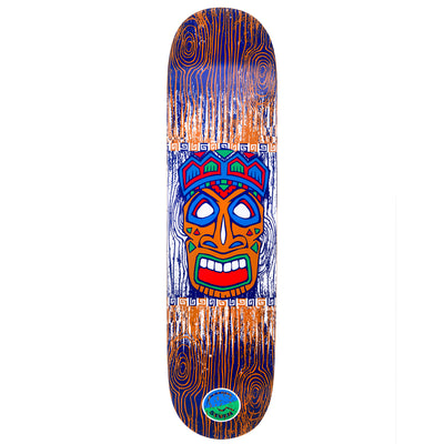 Cal 7 Kahuna Skateboard Deck Canadian Maple 7 Ply 8 Inch Popsicle Trick