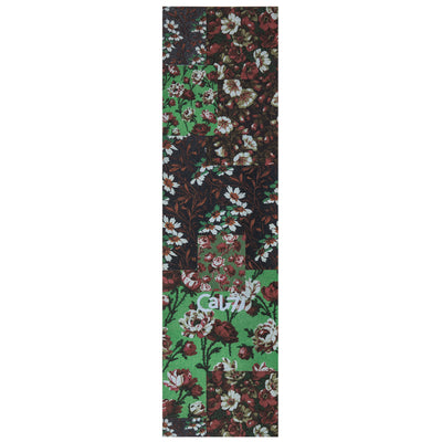 Cal 7 skateboard griptape with patch flowers design