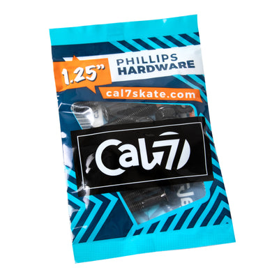 "Cal 7 Cruiser Skateboard 1.25"" Bolts Phillips Hardware"