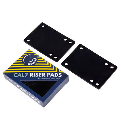 "Cal 7 Truck 1/8"" Skateboard Riser Pads- Black, Blue, Green, Pink, Red, Yellow"