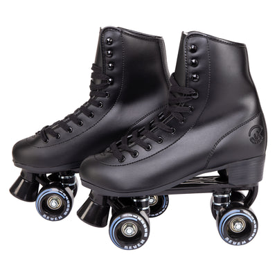 c7skates vixen quad skates with retro design and a removable toe stop