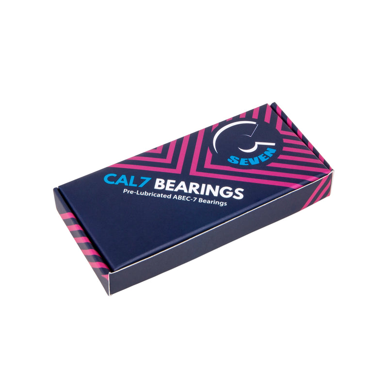 Cal 7 Abec-7 Premium Skateboard Longboard Bearings with Spacers