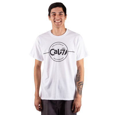 Short-Sleeve Acid Tee | White