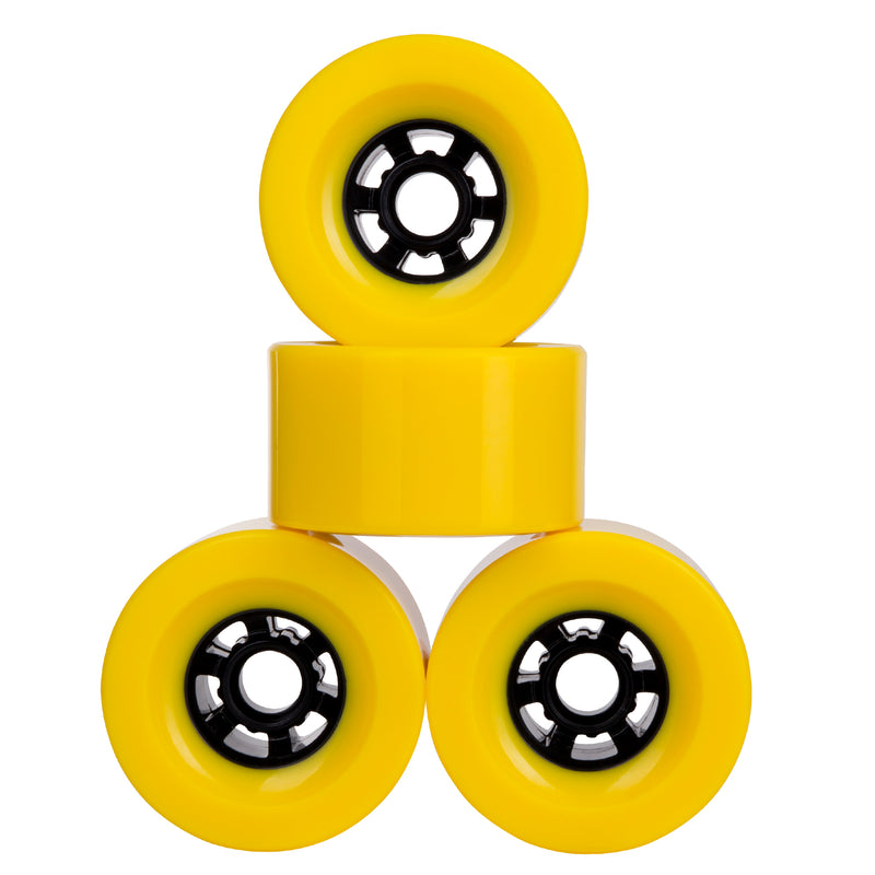 Cal 7 Polyurethane Skateboard Wheels for Longboard Cruiser 97x52mm 78A