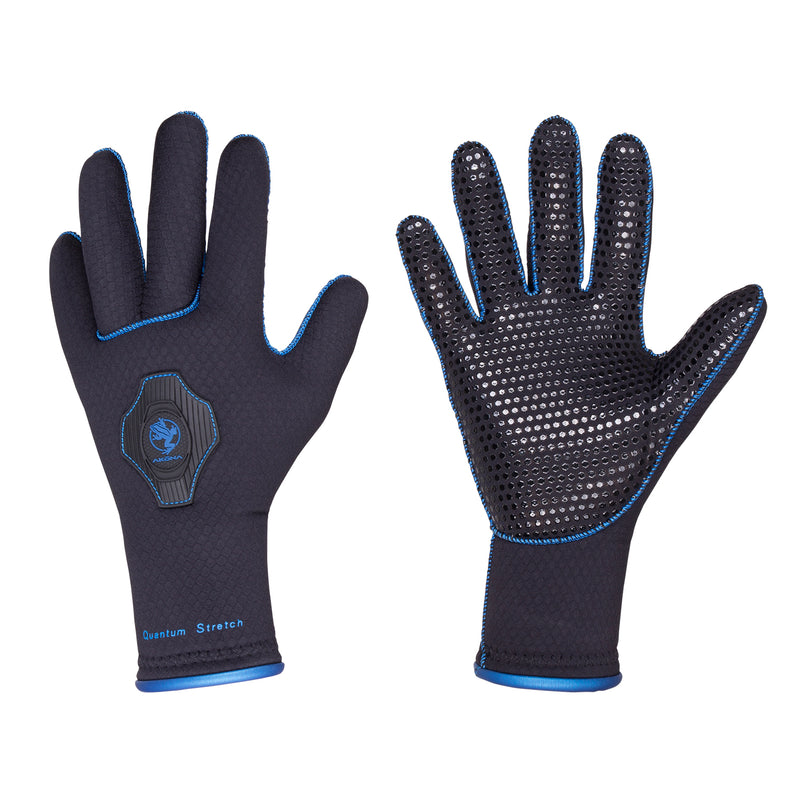Akona 3.5mm Neoprene Anatomical Quantum Stretch Glove with Grip Dots