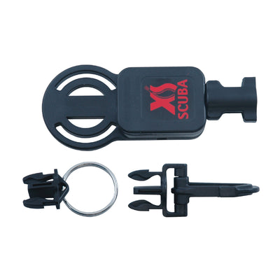 XS SCUBA Hose Mount Retractor Quick Release 25 Inch Extension