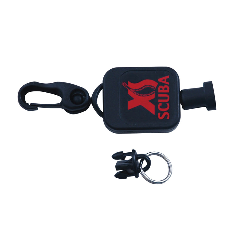 XS SCUBA Micro Retractor Quick Rel 36 Inch Extension Polyester Cord
