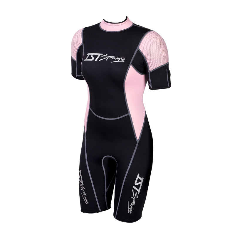 IST Women's 2.5mm All Purpose Adult Tropical / Temperate Watersport Shorty