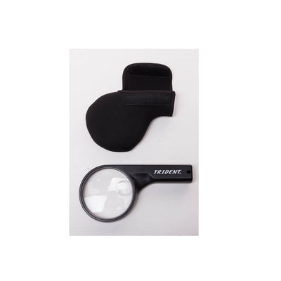 Trident Dual Strength Magnifying Lens with Neoprene Sleeve