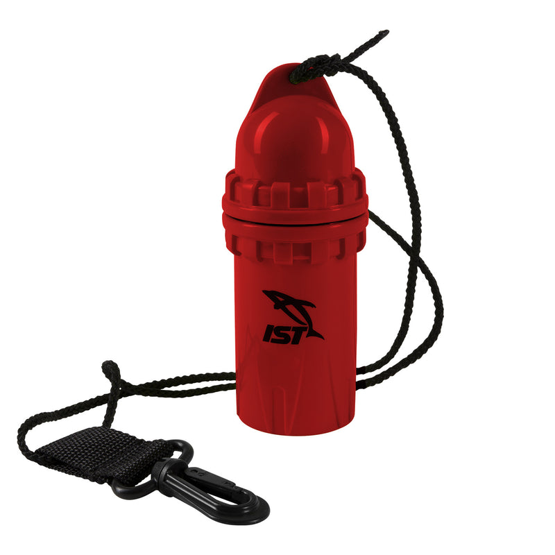 IST High Impact Dry Canister with Hang Cord and Clip, Small