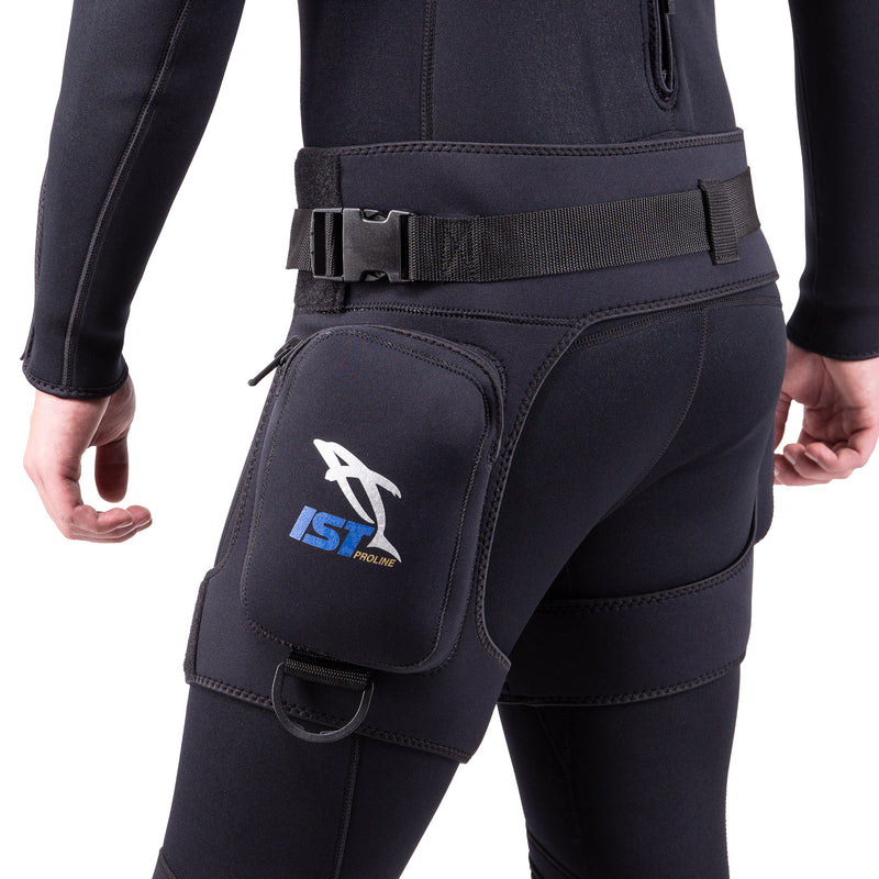 IST DH2 Diver Pocket Thigh Holster With Leg and Belt Straps