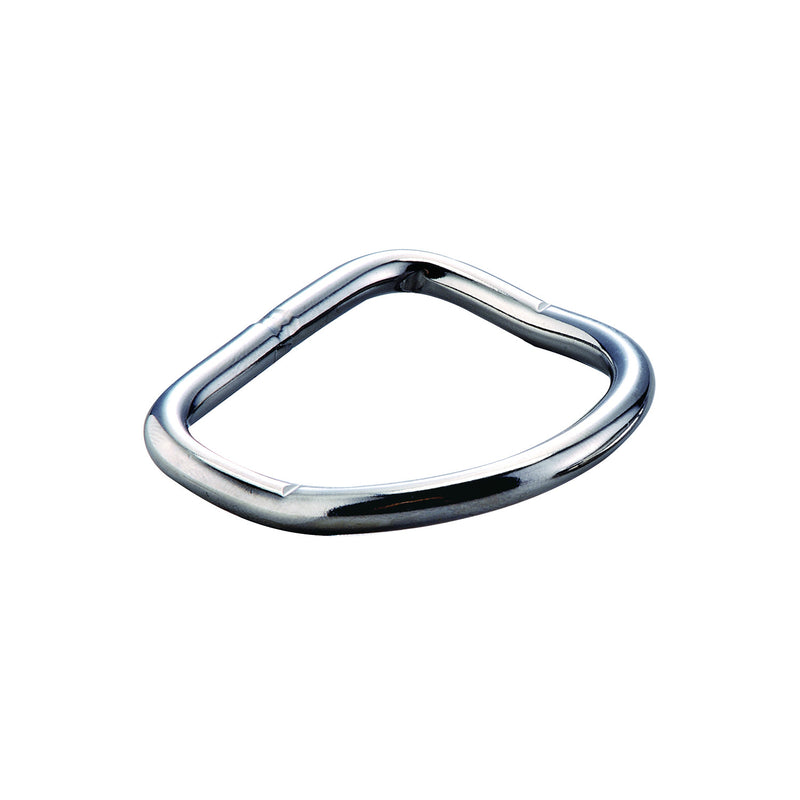 IST DR-1 5mm Thick 304 Stainless Steel Bent D-Ring