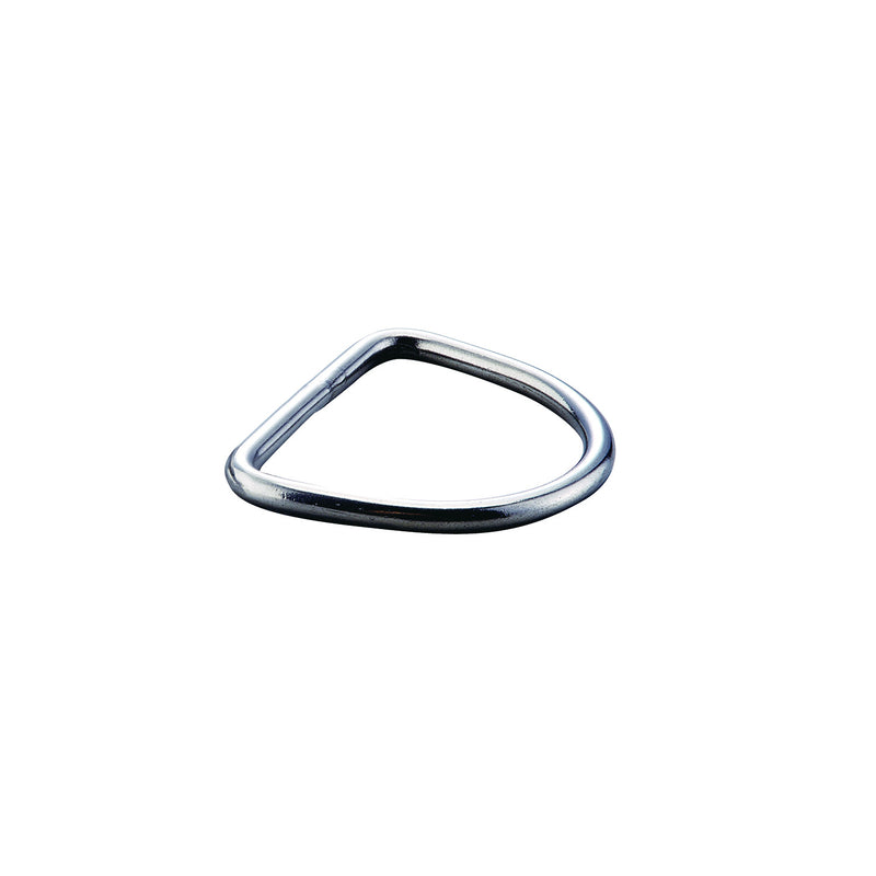 IST DR-2 5mm Thick 304 Stainless Steel Flat D-Ring
