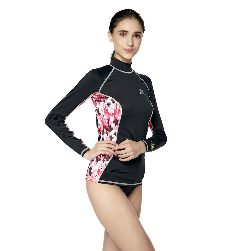 IST DS-56 Women's Long Sleeve Spandex Rash Guard