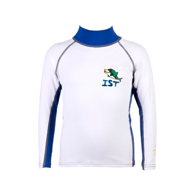 IST Unisex Kids Long Sleeve Spandex Rash Guard