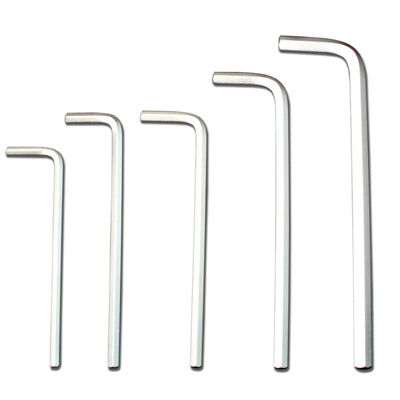 set of 5 hex keys
