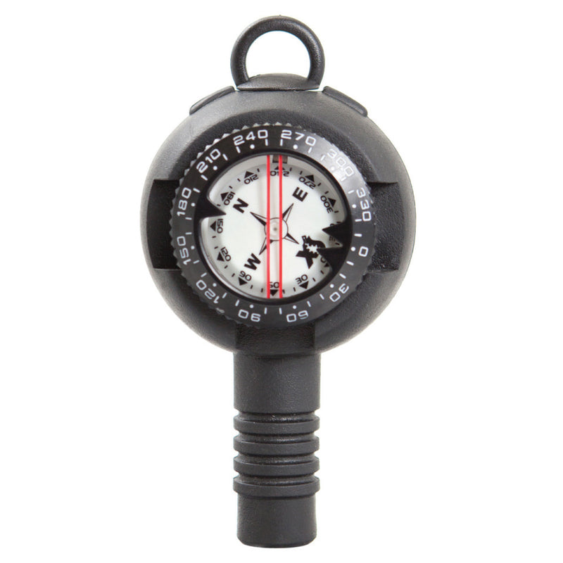 XS SCUBA Back To Back Pressure Gauge Compass Combo 0 To 5000 PSI