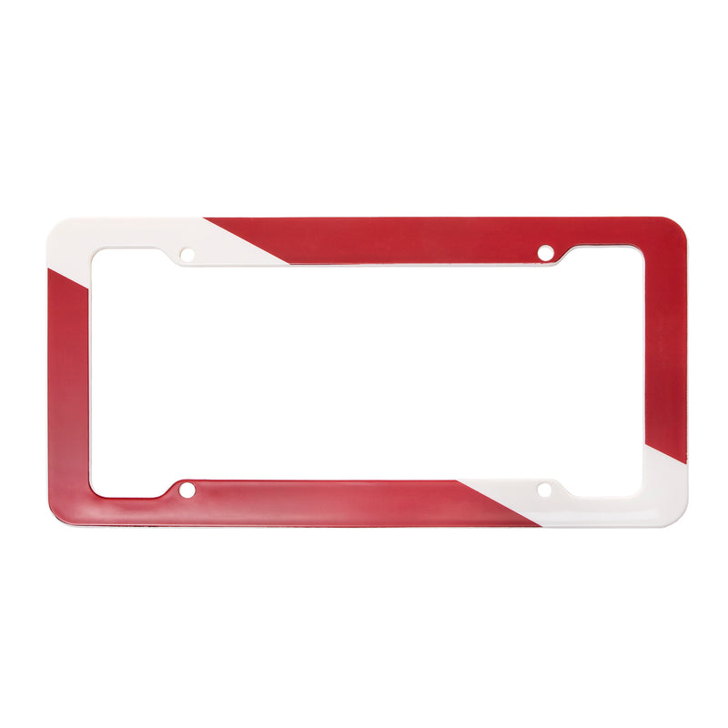 Trident Plastic Auto License Plate Frame: Diver Down Flag