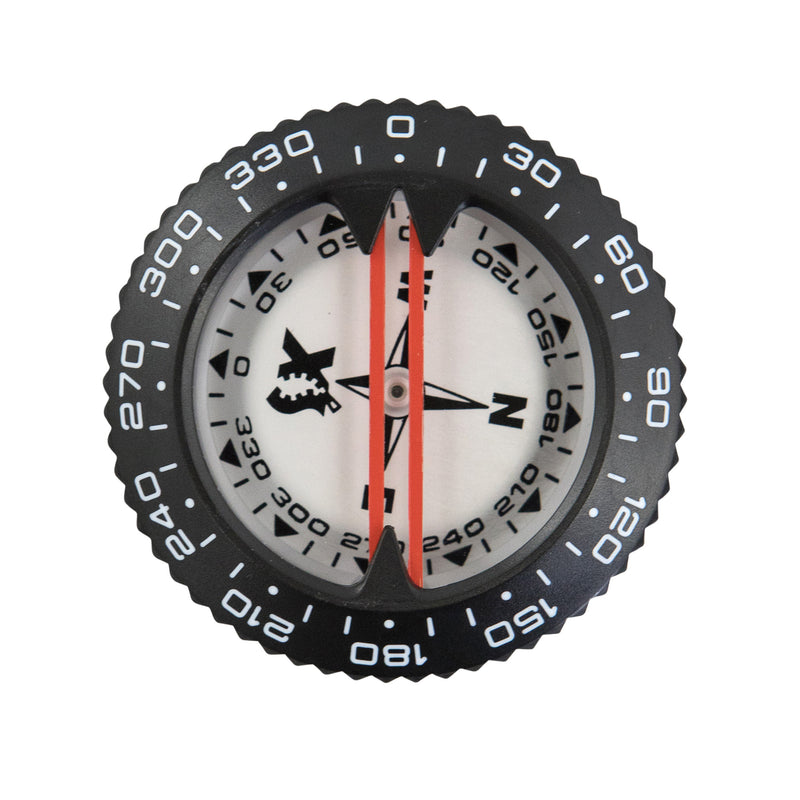 XS SCUBA Compass Module Gauge SuperTilt Top Side Reading Bezel