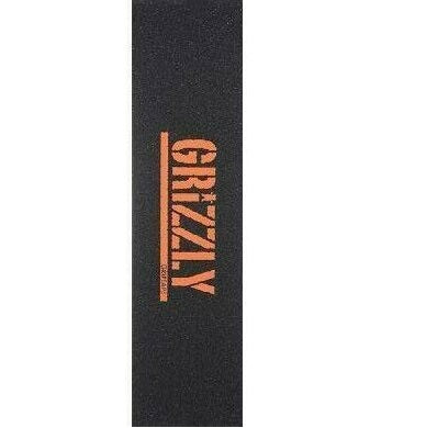 Grizzly Orange Stamp Griptape