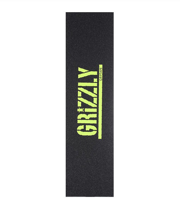 Grizzly Lime Stamp Griptape