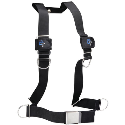 IST Dolphin Tech Basic Dive Harness with Buckle and Hose Tie Downs
