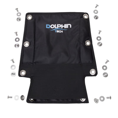 IST HB-4 Dolphin Tech Backplate Pad and Pouch with Mounting Screws