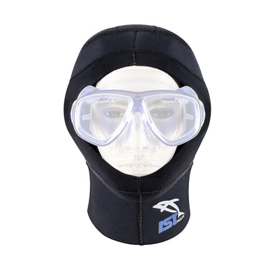 IST HD-6 Dual Layer 5mm Neoprene Dive Hood, For Use with ProEar Mask