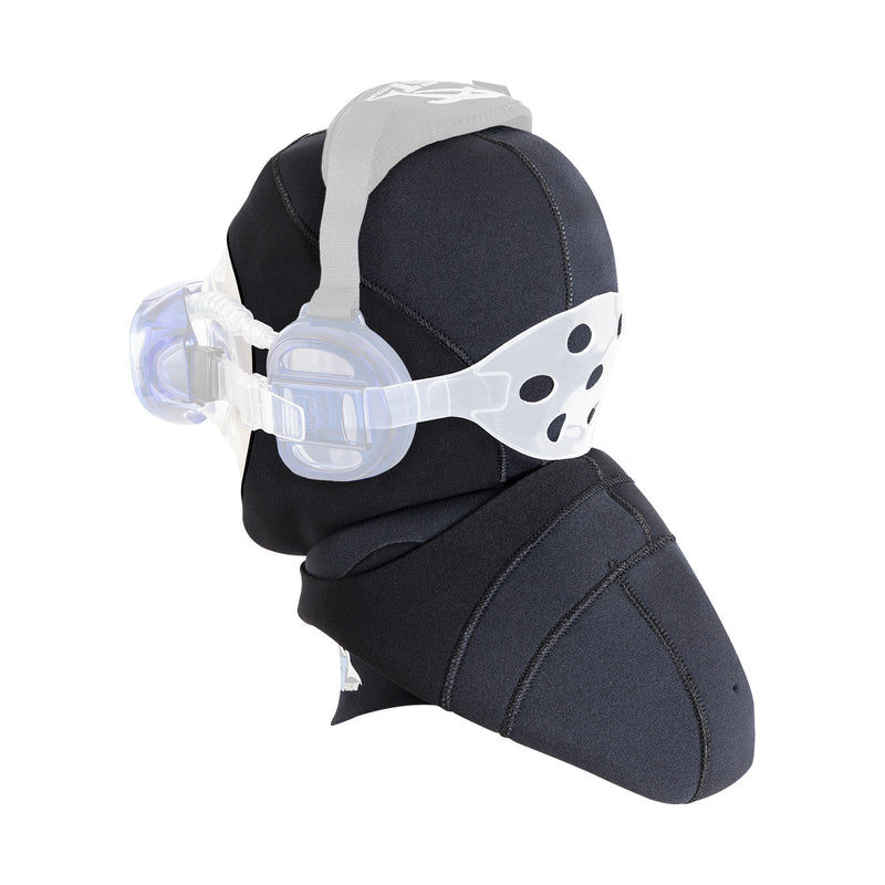 IST HD-6 Dual Layer 5mm Neoprene Dive Hood, Use with ProEar Mask