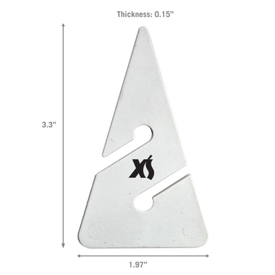 XS SCUBA Directional Line Arrows 10 Pack White Durable Plastic