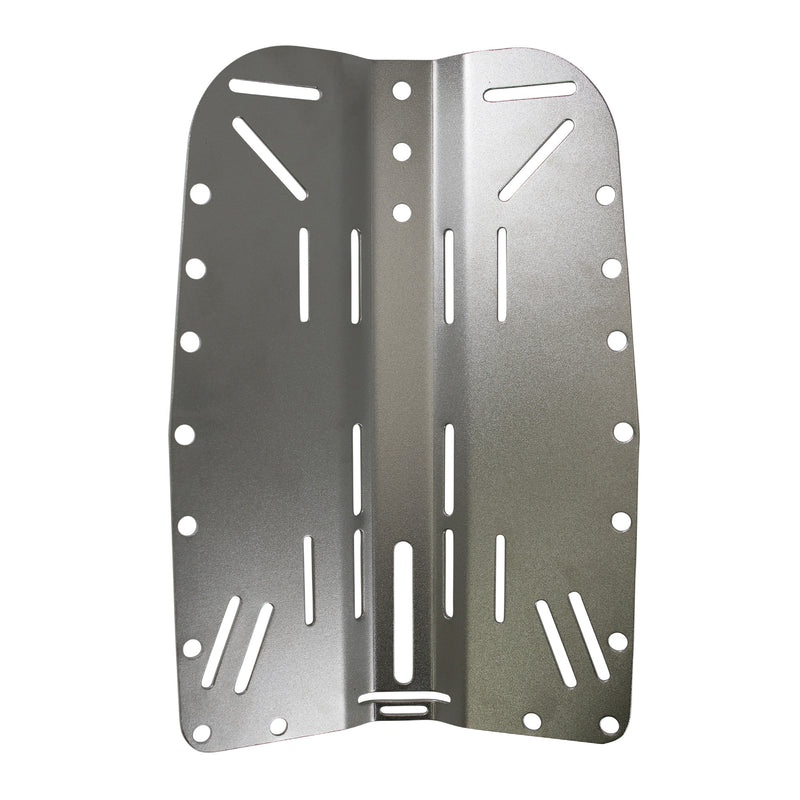 XS SCUBA Highland Stainless Steel Backplate 11 Gauge Satin Finish
