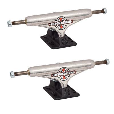 Independent 129 Forged Hollow Vintage Cross Silver Skateboard Trucks