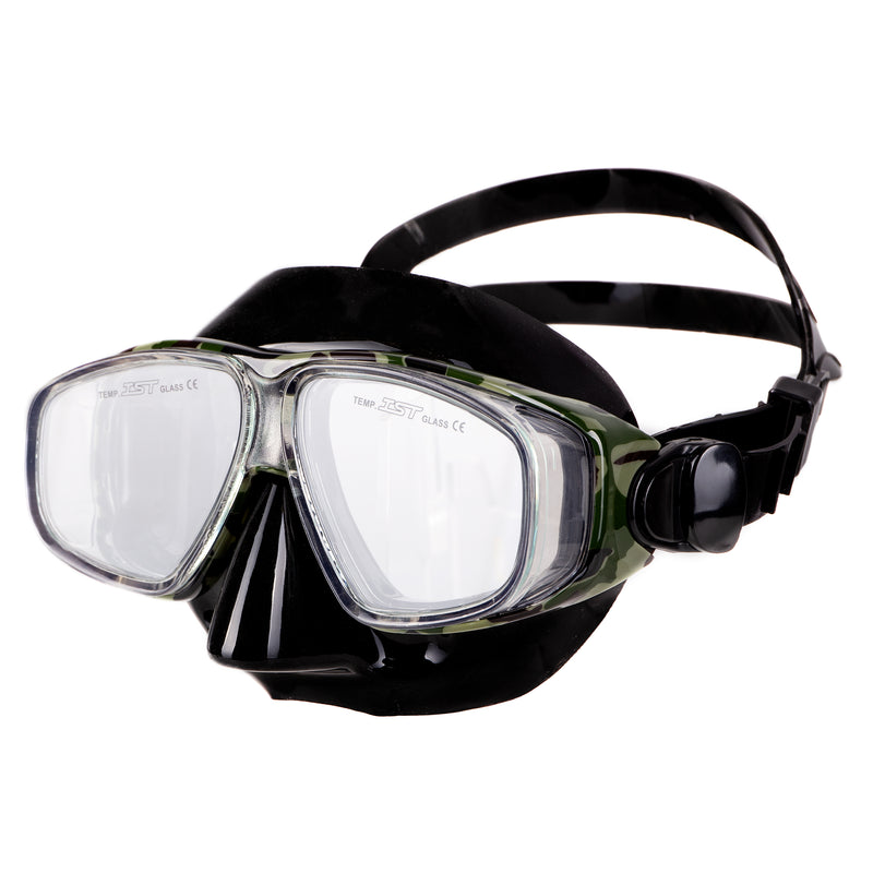 Presto four windows scuba diving snorkeling mask