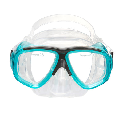 IST Teal Search Twin Lens Mask with RX Lens Option