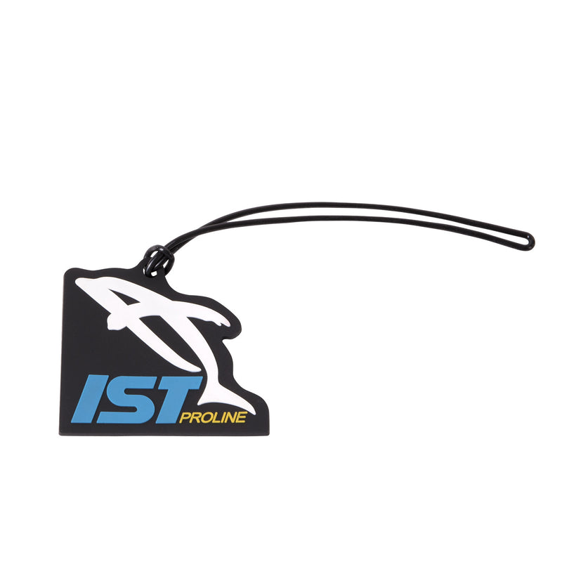 IST Rubber Luggage Tag with Colorful Dolphin Logo