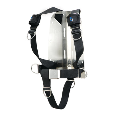 IST Dolphin Tech Basic Dive Harness with Stainless Steel Backplate
