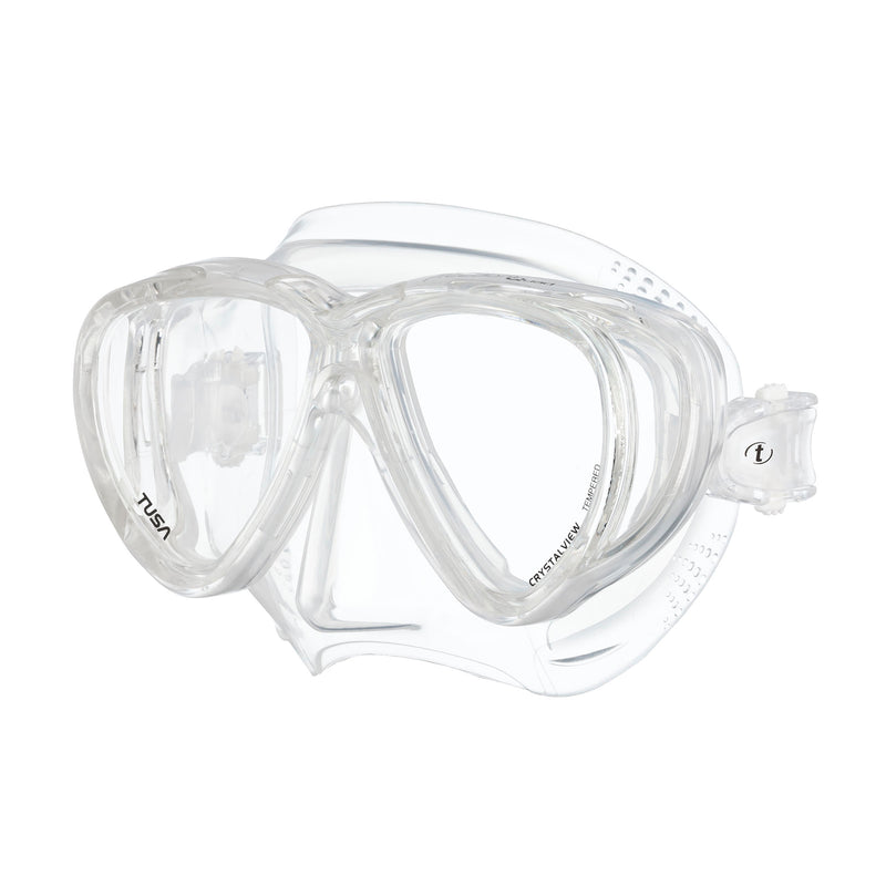 TUSA Freedom Quad Panoramic Scuba, Snorkel Mask with Side Windows