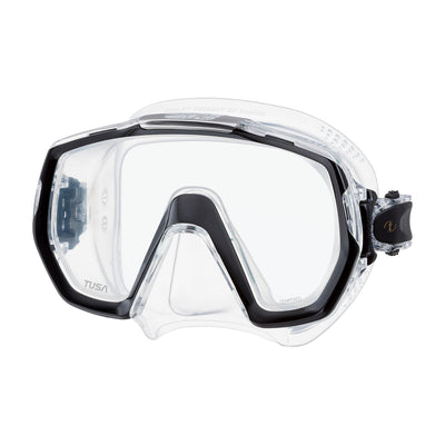 TUSA Freedom Elite Scuba, Snorkel Mask, Quick Release Swivel Buckles