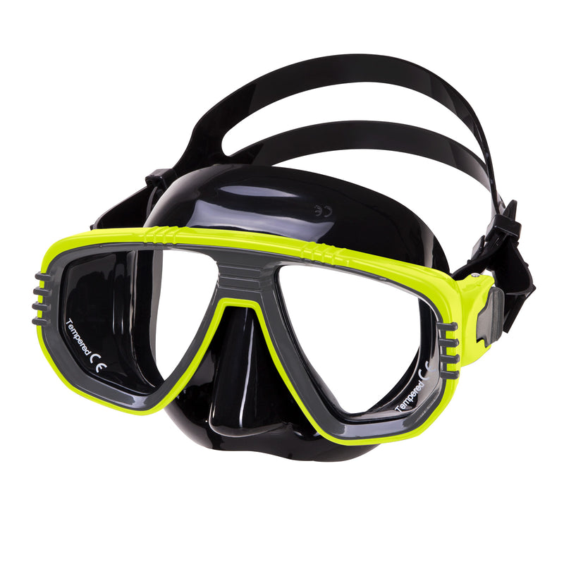 IST Corona Twin Lens Scuba Diving Snorkeling Mask with RX Lens Option
