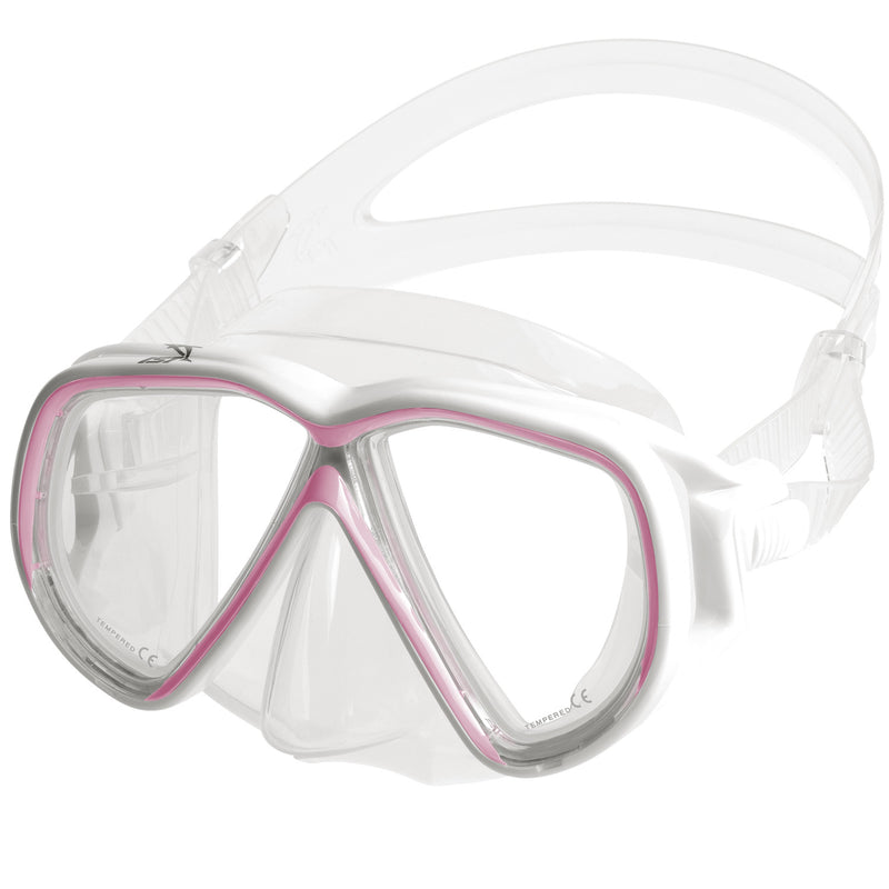 IST M75-1 Martinique Narrow Dual-Window Diving Snorkeling Mask