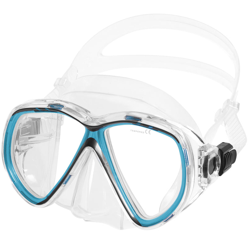IST M75 Martinique Dual-Window Diving Snorkeling Mask