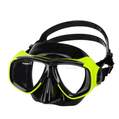IST Neon Yellow M80 Prescription Dive Mask