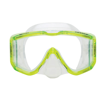 XS SCUBA Fusion Panoramic View Polycarbonate Frame Dive Mask with Box