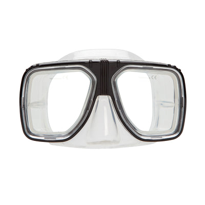 XS SCUBA Metro Mask Split Window Double Edged Sealing Surface