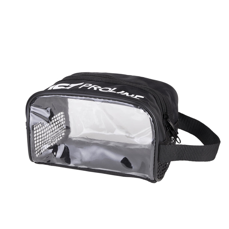 IST Large Dive Mask Zippered Case with Clear Sides and Mesh Panels